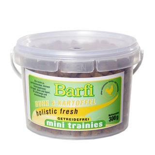 Barfi mini trainies Huhn & Kartoffel 300 g
