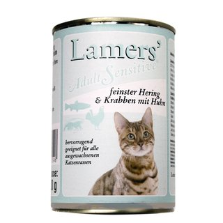 Lamers Adult Sensitive feinster Hering & Krabben mit Huhn